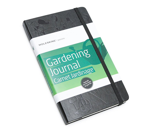 Keep track of what you grow with a handy journal like this one from Moleskine.